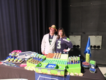 Norene Cox, Chef Thierry Rautureau, Chef in the Hat, Party Pinching,  New Day Northwest, KING 5,