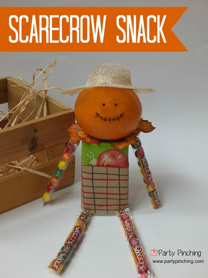 Scarecrow Snack Party Pinching