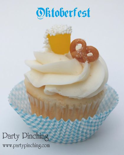 Oktoberfest dessert, easy Oktoberfest food ideas, Oktoberfest party ideas