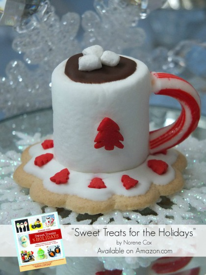 hot cocoa marshmallow cookie, sweet treats for the holidays book,