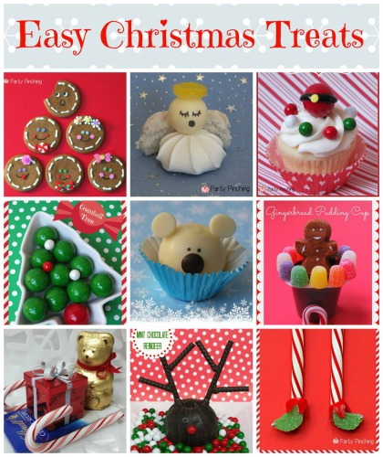 Easy Christmas desserts, treats