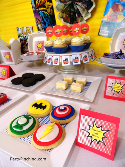 Big Bang Theory Party, big bang theory dessert table