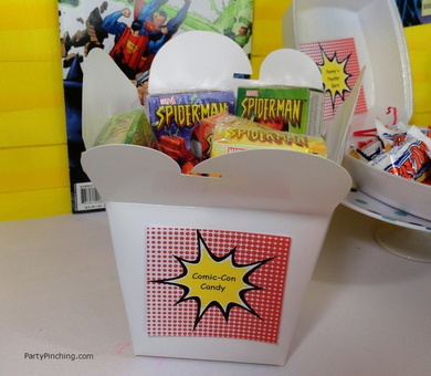 Big Bang Theory Party, comic-con candy