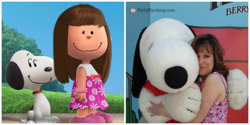 peanutize, peanuts movie theme party, Snoopy, Peanuts, Norene Cox, Party Pinching