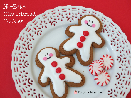 Little Debbie Soft Gingerbread Cookies, Easy no-bake gingerbread cookies, cute gingerbread cookies for kids, easy Christmas dessert ideas