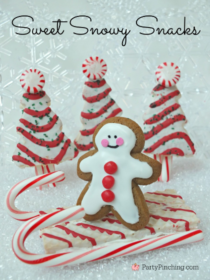 Little Debbie Christmas Snack Cakes, Gingerbread cookie, north pole nutty bars, peppermint christmas tree cakes, easy Christmas dessert ideas