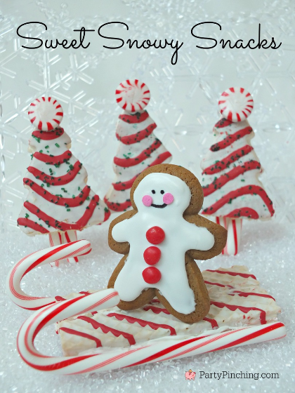 Little Debbie Christmas snacks, cute Christmas dessert ideas, easy Christmas dessert ideas for kids, room mom ideas, cute food, party pinching