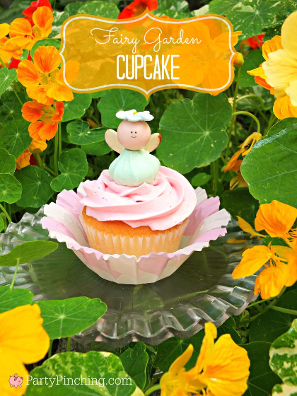 fairy garden cupcakes, fairy garden ideas, theme fairy gardens, fairy garden party, cute fairy ga