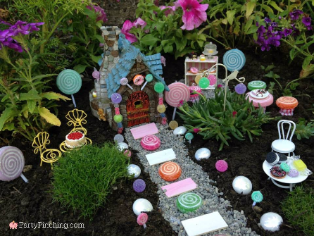 fairy garden bakery, fairy garden ideas, theme fairy garden