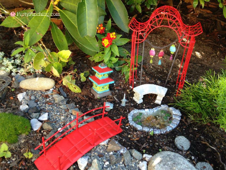 Japanese Fairy Garden, fairy garden ideas, theme fairy garden