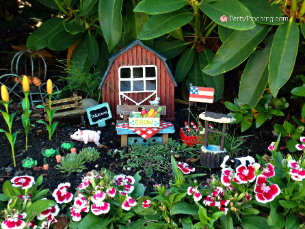 fairy garden farm, fairy garden ideas, theme fairy garden