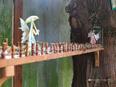 fairy garden ideas, theme fairy garden, fairy garden bridge