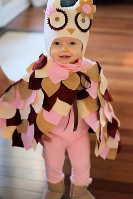 Best Halloween costumes for kids, DIY kids costumes, easy kids costumes to make, adorable and cute Halloween costumes for toddlers and infants, Halloween party ideas, cute owl costume