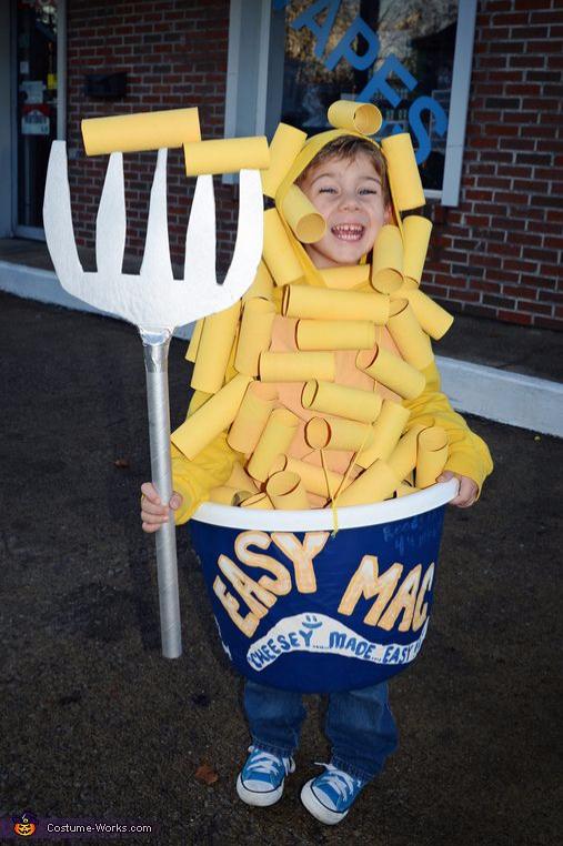 Mac u0026 Cheese Kids costume Best Halloween costumes for kids DIY kids costumes  sc 1 st  Party Pinching : cool ideas for halloween costumes  - Germanpascual.Com