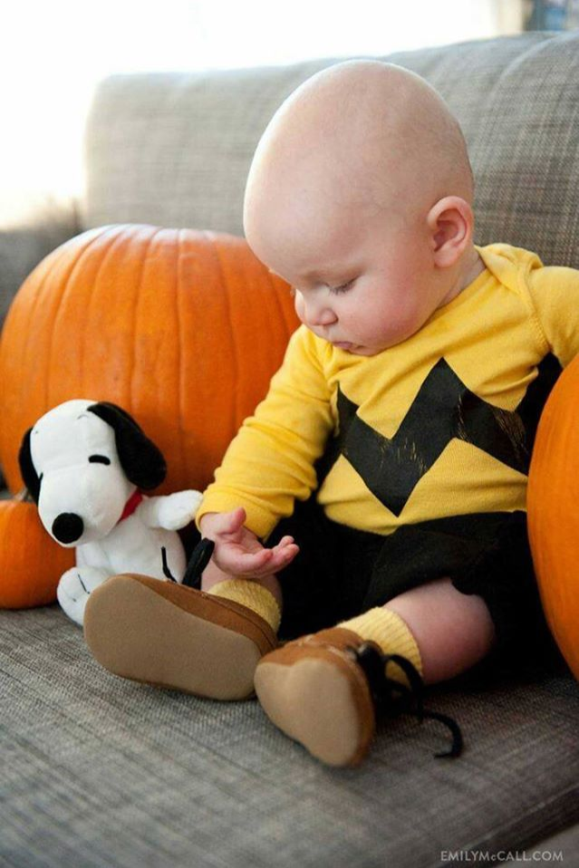 baby Charlie Brown peanuts snoopy costume Best Halloween costumes for kids DIY kids costumes : diy snoopy costume  - Germanpascual.Com