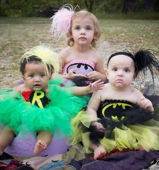 Batman baby costume, Batgirl baby, Robin baby tutu costume,Best Halloween costumes for kids, DIY kids costumes, easy kids costumes to make, adorable and cute Halloween costumes for toddlers and infants, Halloween party ideas