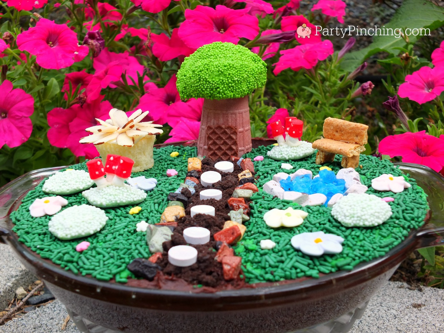 Fairy garden theme party woodland party ideas Fairy Garden ideas