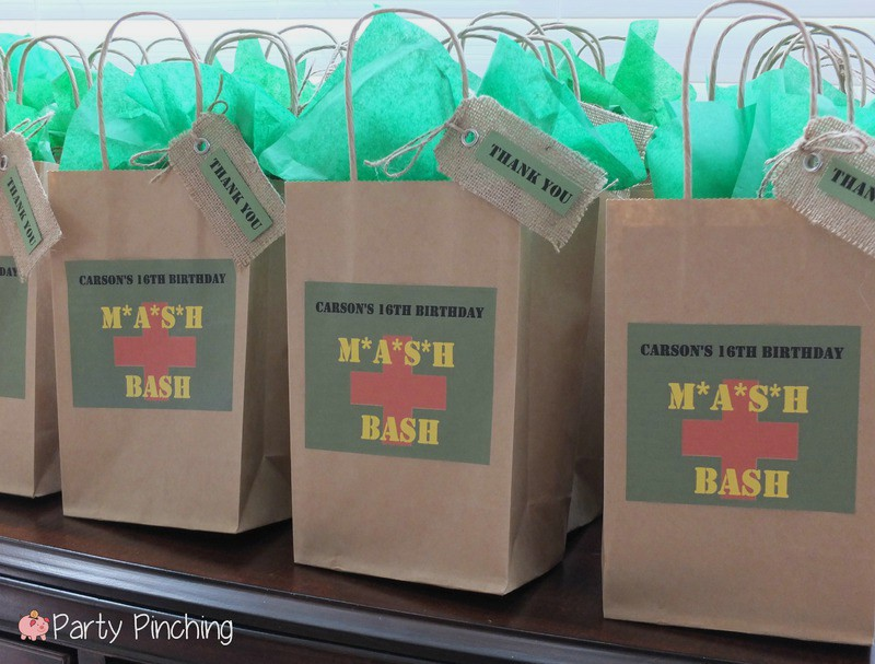Mash Bash Tv Show Television Theme Party Army